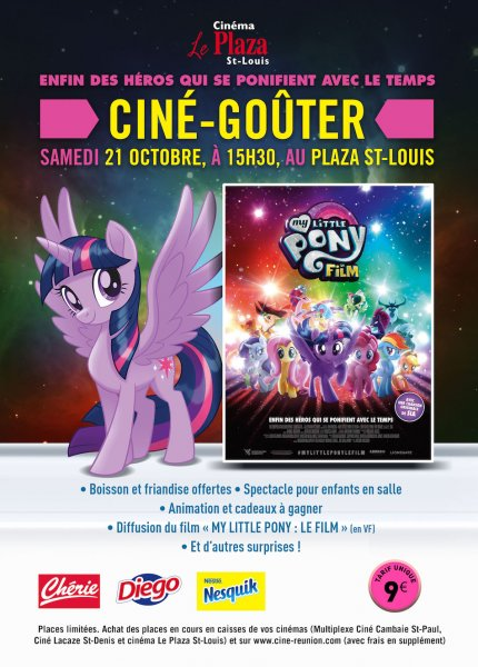 CINE GOUTER MY LITTLE PONY LE FILM