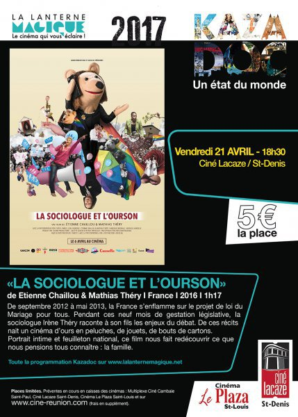 CYCLE KAZADOC-LA SOCIOLOGUE DE L'OURSON