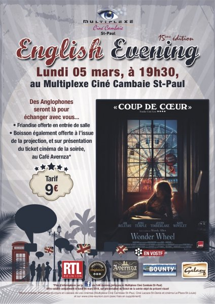 ENGLISH EVENING : WONDER WHEEL