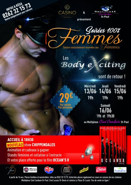 SPECTACLE DES BODY EXCITING