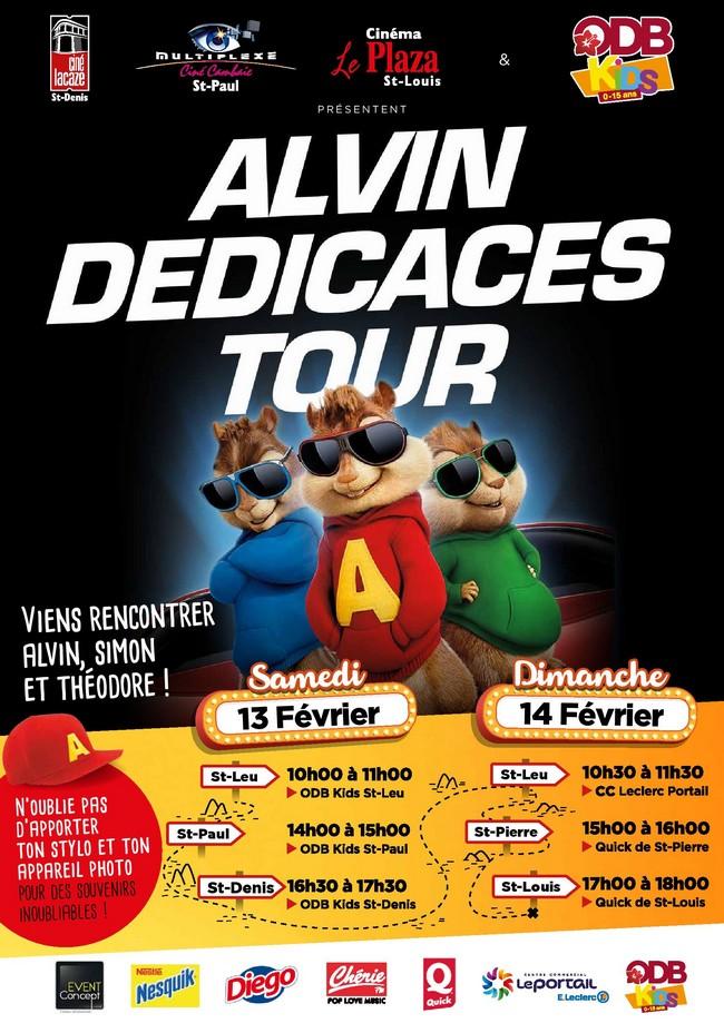 ALVIN DEDICACES TOUR