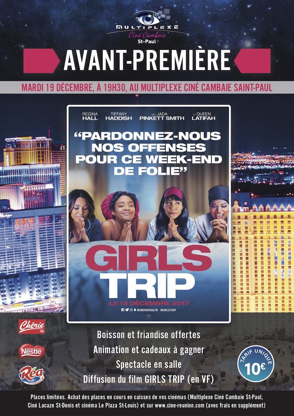 Avant-première Girls Trip