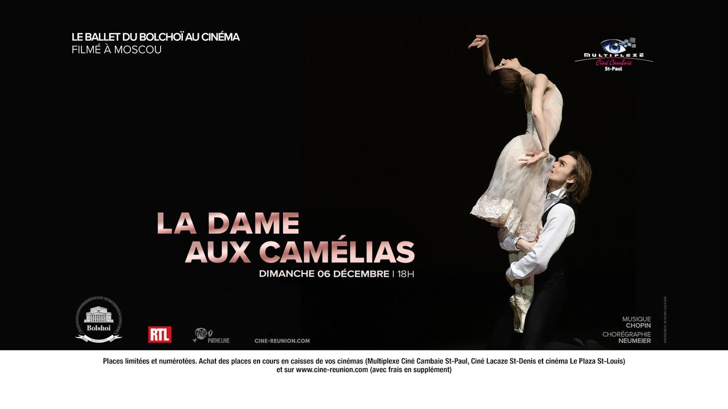 BALLET LA DAME AUX CAMÉLIAS