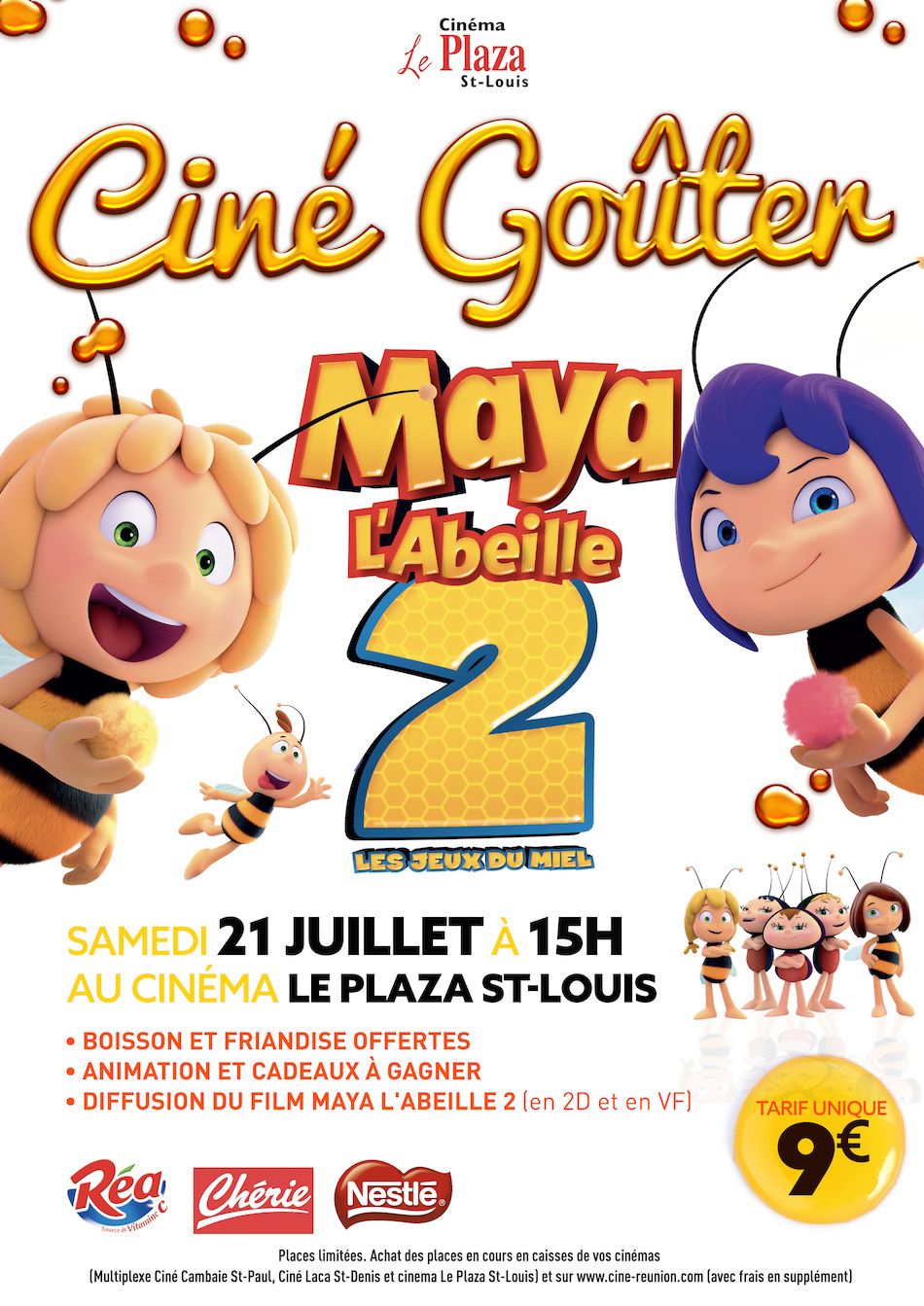 CINE-GOUTER MAYA L'ABEILLE