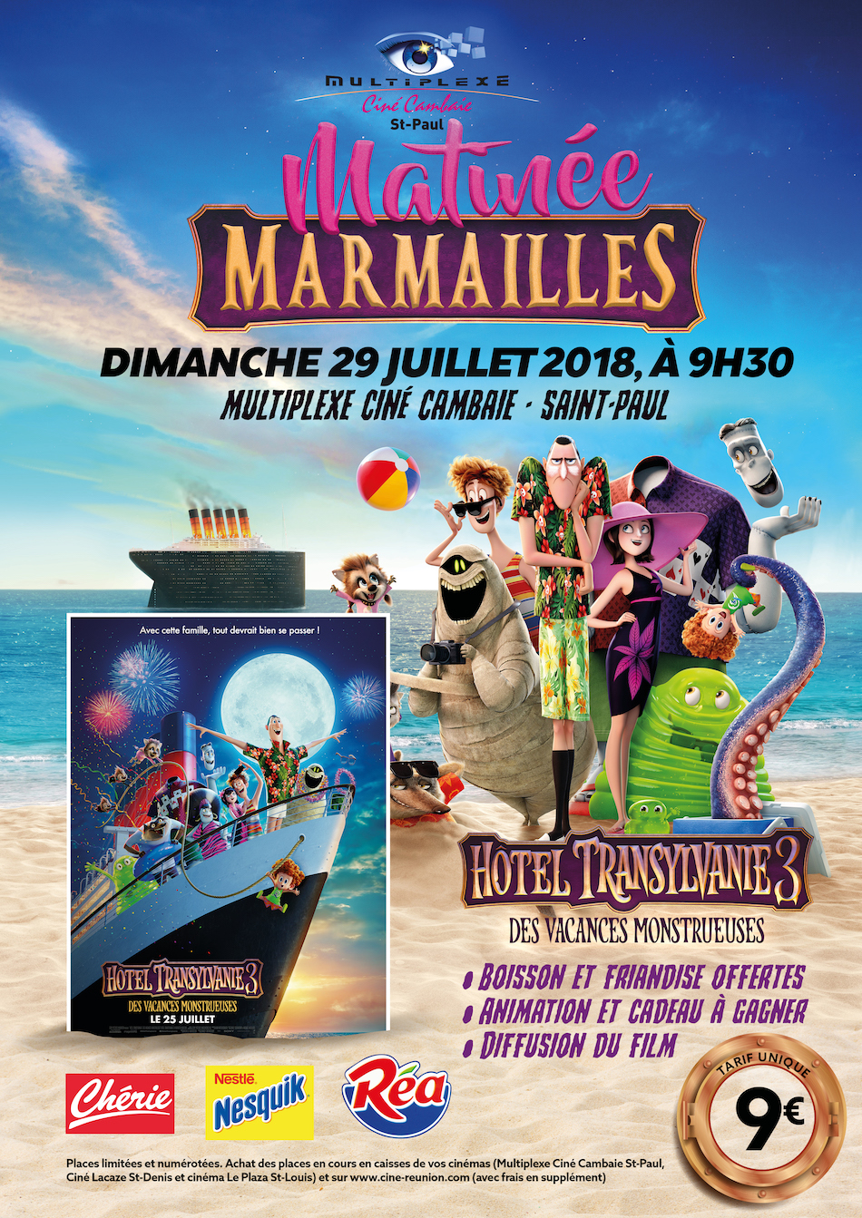 MATINEE MARMAILLES HOTEL TRANSYLVANIE