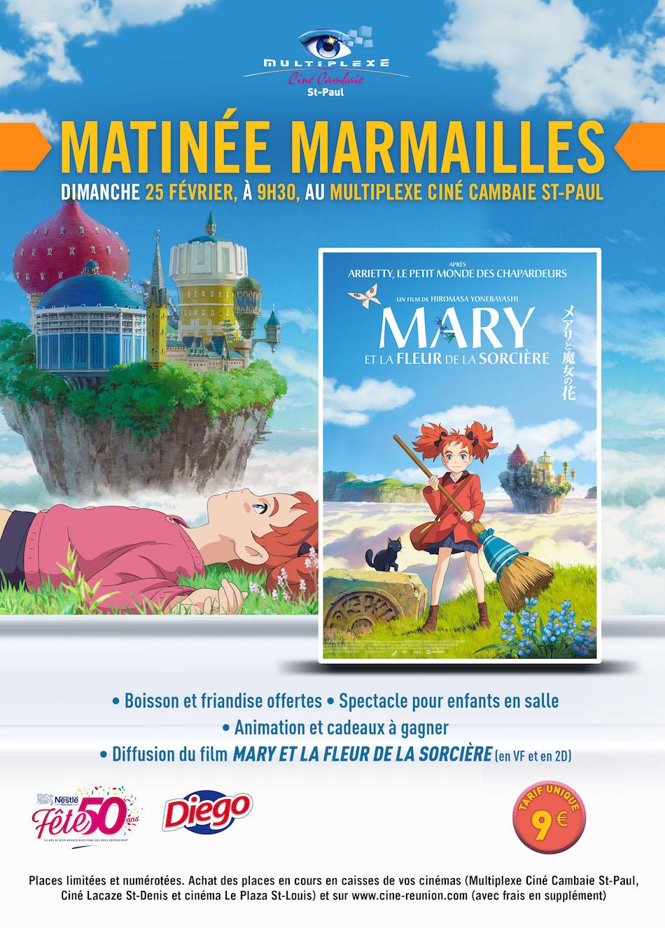 MATINEE MARMAILLES MARY ET LA FLEUR DE SORCIERE