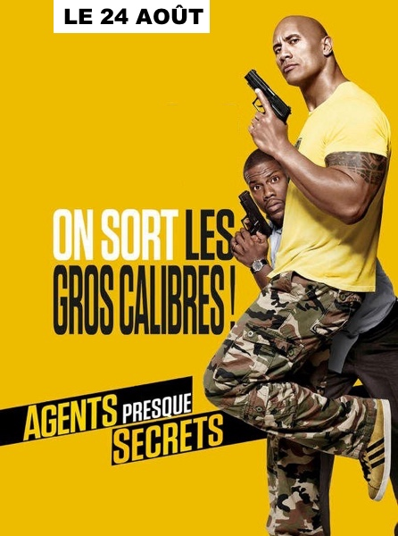 AGENTS PRESQUE SECRETS : ON SORT LES GROS CALIBRES